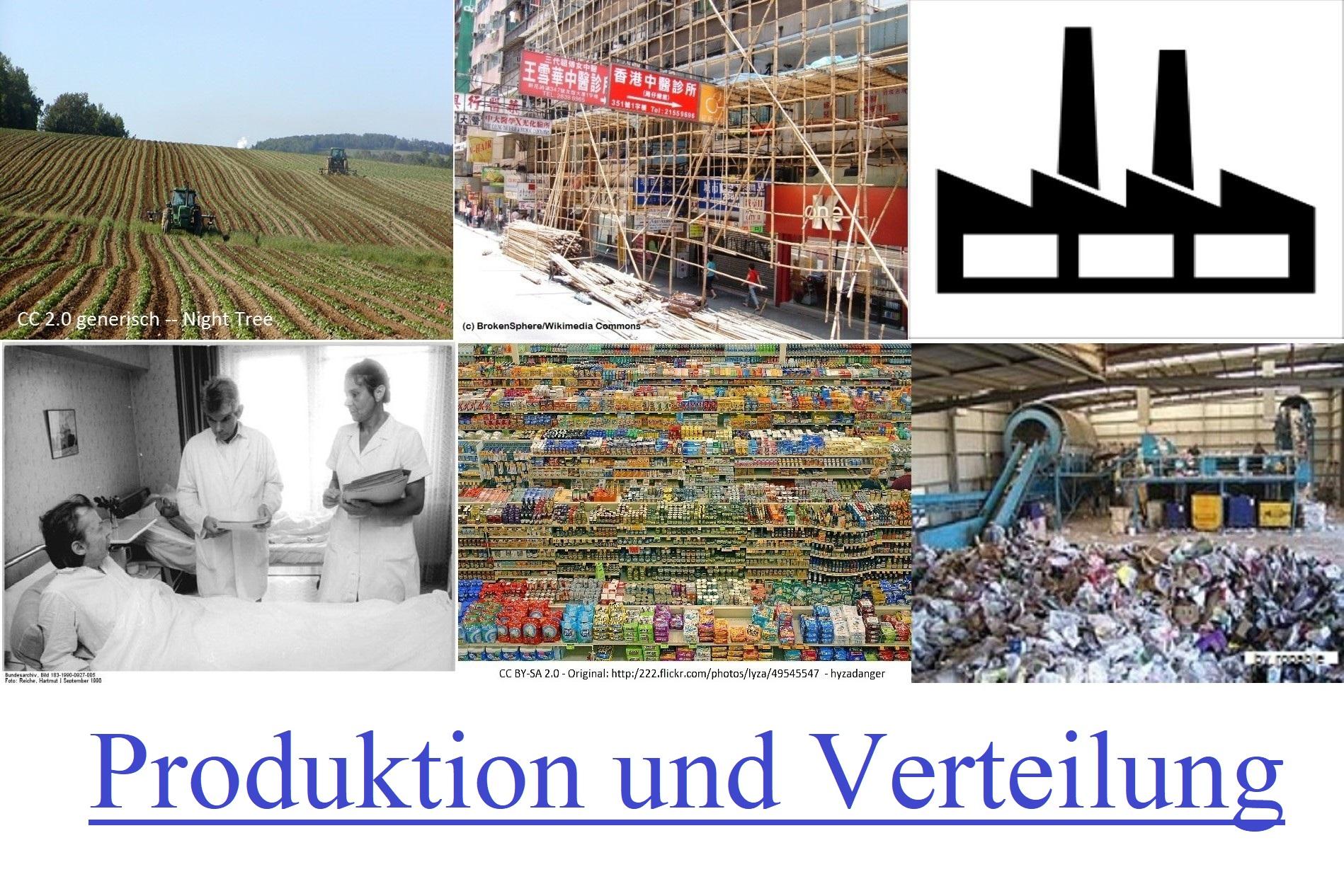 Produktion und Verteilung